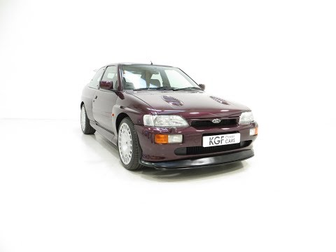 A Fully Detailed Ford Escort RS Cosworth Monte Carlo with 58,376 Miles - SOLD!