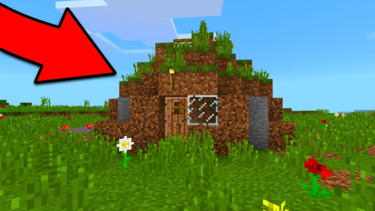 Ultimate Insane Minecraft Dirt House Youtube