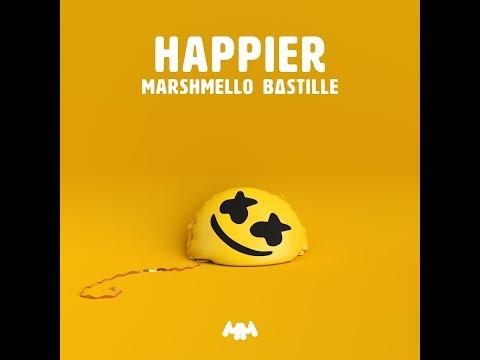 Happier (Audio) - Marshmello & Bastille