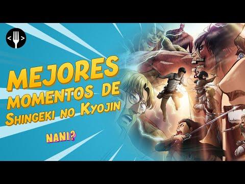 Shingeki no Kyojin: Los 10 mejores momentos del anime | Nani?