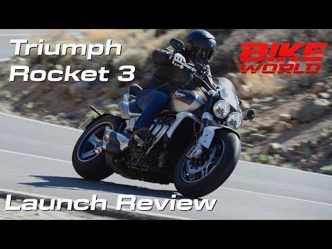 Triumph Rocket 3 Launch Review