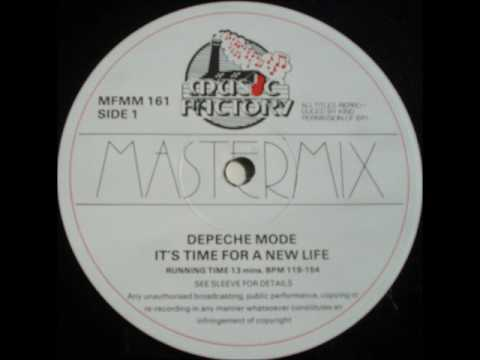 music factory mastermix  issue 16 ( depeche mode 'megamix ' lt's time for a new life  1987