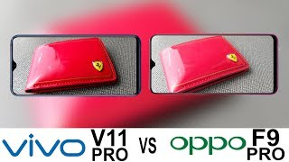 Vivo V11 Pro Vs Oppo F9 Pro Camera Test