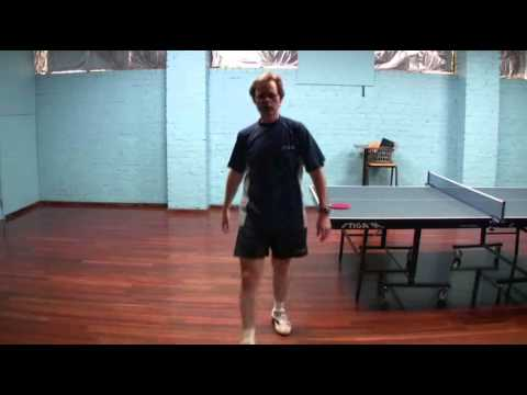 Table Tennis - Footwork Fundamentals - Shuffle Step, Crossover Step, One Step, Leaning