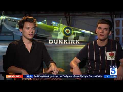 "Harry Styles Talks to Sam About Auditioning for ""Dunkirk"""