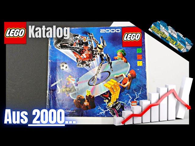 Der Anfang von Legos Krise📉  | LEGO Katalog 2000 Review