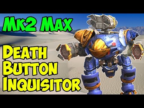 War Robots Mk2 Orkan Exodus Death Button Inquisitor Gameplay WR