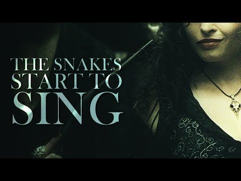 Death Eaters   The snakes start to sing.