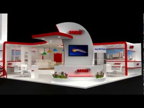 exhibition stall design, stage design & Fabrication