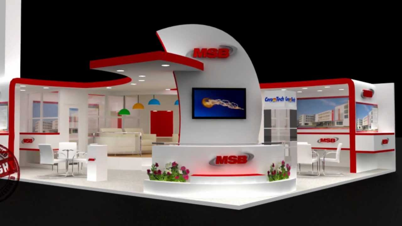 Exhibition Booth Fabrication : Exhibition stall design stage design & fabrication youtube