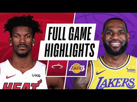 Game Recap: Heat 96, Lakers 94