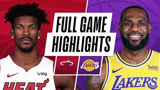 Game Recap: Heat 96, Lakers 94