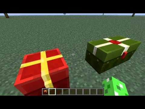 MINECRAFT: CHRISTMAS CHEST EASTER EGG ~1.4.6 25/12/12 - YouTube