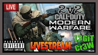 Call Of Duty Modern Warfare 2v2 Alpha! Lets Give This Modern Warfare Beta A Real Chance!