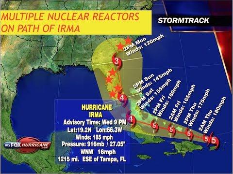 Latest,Hurricane,Irma,Updates,Category 5,185 MPH Winds,Path,Covers,Florida,East Coast