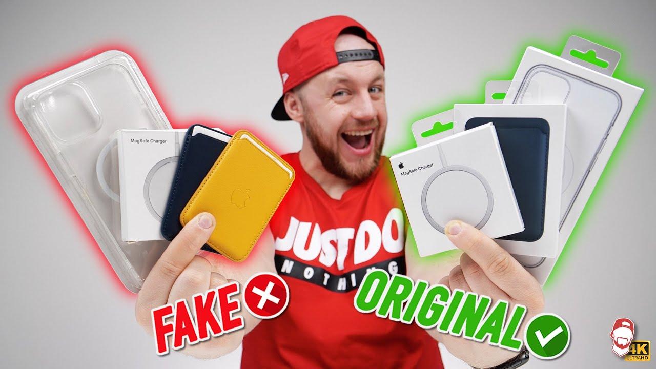 Download ❌ FAKE Apple MagSafe vs. ORIGINAL: Jaké je MagSafe příslušenství z AliExpressu?   WRTECH [4K]