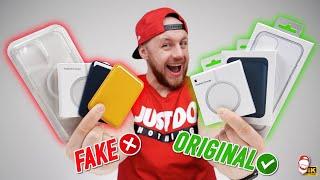 ❌ FAKE Apple MagSafe vs. ORIGINAL: Jaké je MagSafe příslušenství z AliExpressu? | WRTECH [4K]