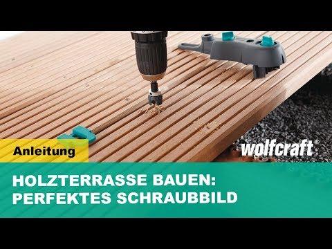 wolfcraft holz terrassenbau schnellanleitung sichtbare. Black Bedroom Furniture Sets. Home Design Ideas