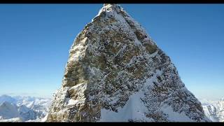 Flying a drone to the top of Matterhorn, 4 478 m a.s.l.