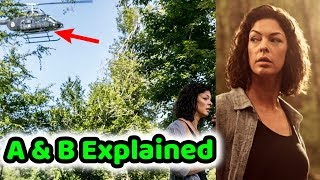 """TWD's Angela Kang Discusses What The Helicopter """"A & B"""" Mean! The Walking Dead Season 9!"""