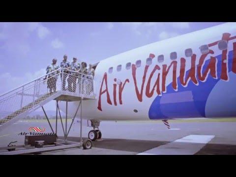 Air Vanuatu Welkams it's new Boeing 737-800, Feb 1, 2016