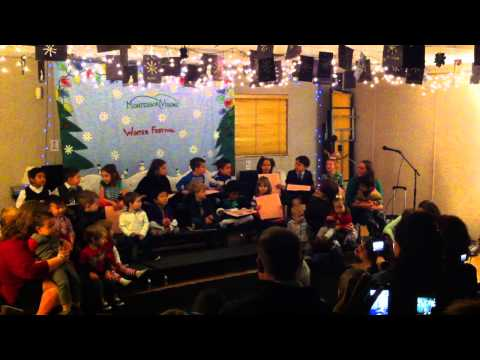 Montessori Visions Academy Winter Concert (Henderson, NV - 12/18/2014) - The 12 Days of Winter