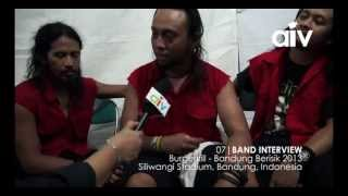 ASIA INDIE VIDEO (AIV BAND INTERVIEW 7) - BURGER KILL - BANDUNG BERISIK 2013