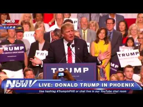 LIVE: Donald Trump's #StandWithTrumpAZ Phoenix Event on Illegal Immigration