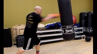 Beginner Heavy Bag Workout Concepts