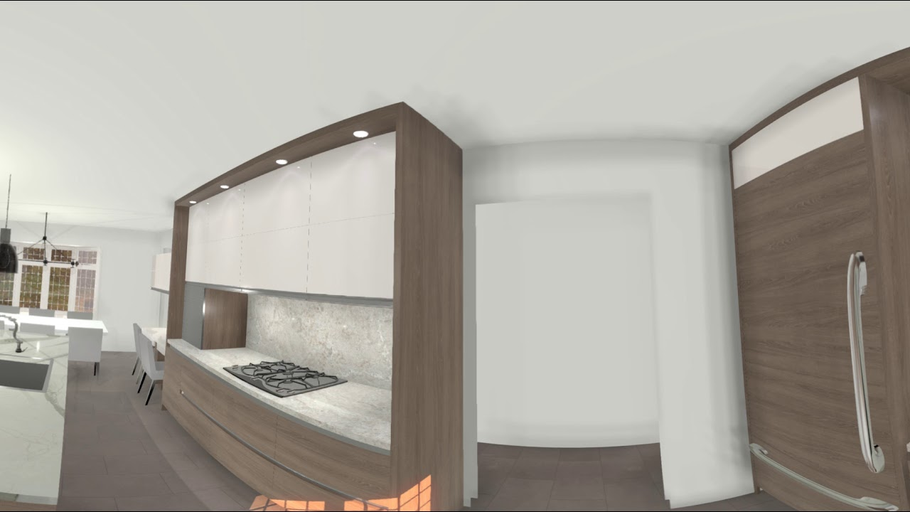 Beau Craftline Cabinet Corp   Cabinet Vision Project In VORTEK Spaces 360°