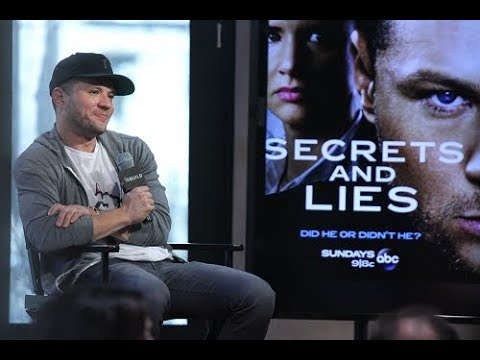 Ryan Phillippe and Dan Fogler - Build NY - Interview about 'Secrets and Lies' (2015)