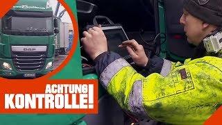 LKW fährt nur noch 25 km/h ! Einsatz der LKW-Pannenhelfer! | Achtung Kontrolle | kabel eins