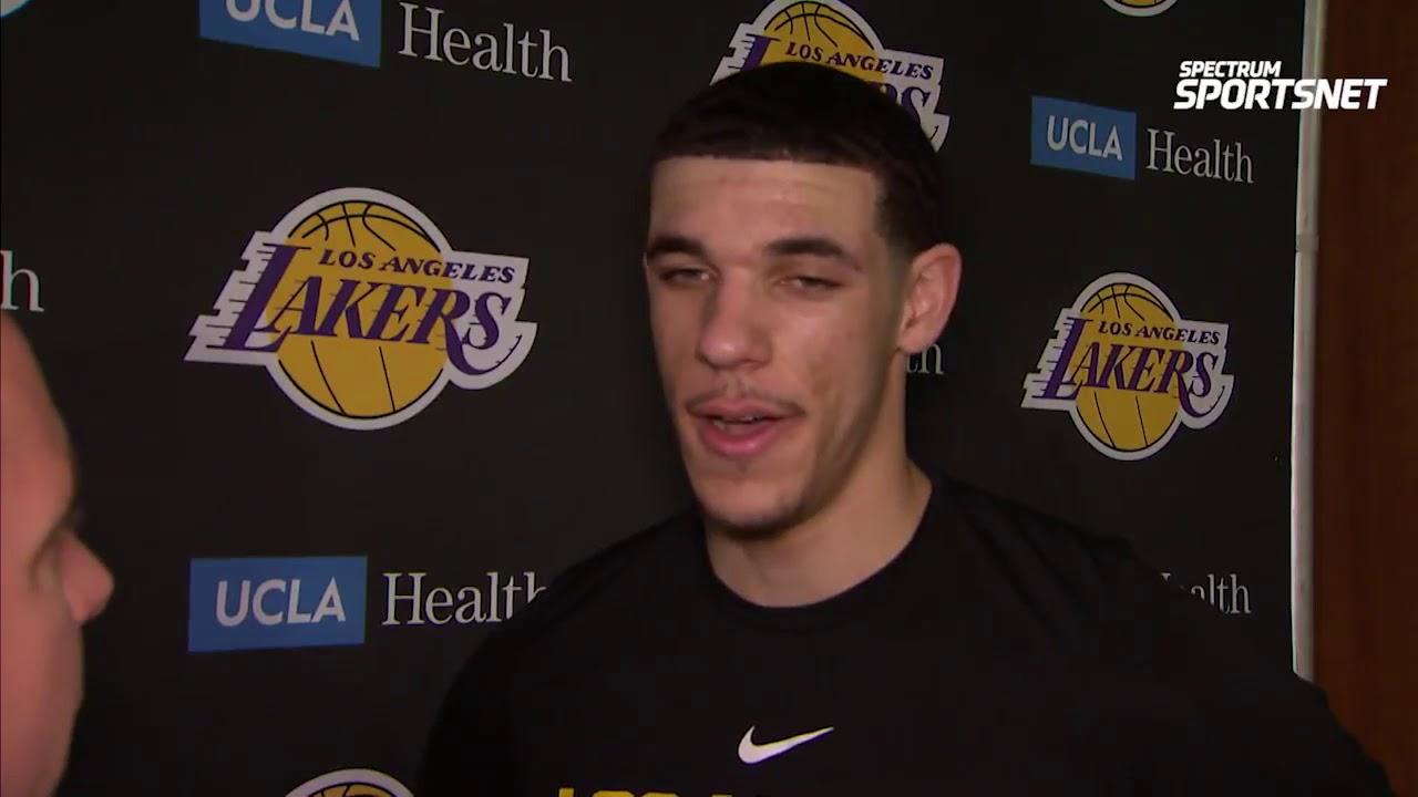 Lonzo Ball Pregame Interview   LA Lakers vs Mavericks - YouTube 58cbca739b84