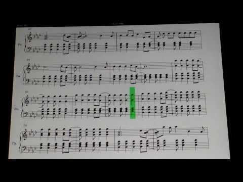 Viva La Vida Piano Arrangement (SHEET MUSIC in Description)