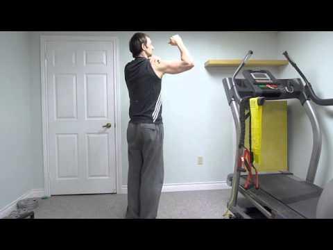 Exercise For Golf Strength  – Y raises Upper Back golf posture training