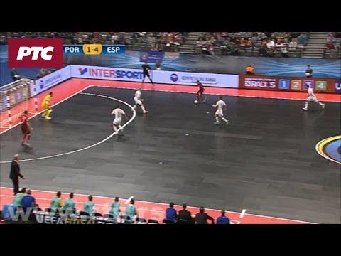 FUTSAL: Spanija – Portugalija 6:2