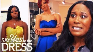 Bridesmaids Are Not Happy With Yellow, Blue & Silver Colour Theme | Say Yes To The Dress Bridesmaids