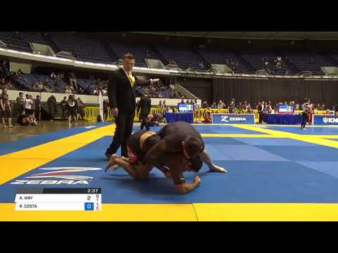 Tony Way jiu jitsu Nogi Worlds round 2