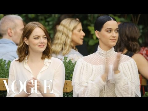 Emma Stone & Katy Perry Watch the Creative Final Fashion Show | EP. 5 | Vogue