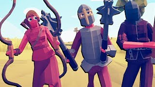 O PODER DOS PERSONAGENS SECRETOS | Totally Accurate Battle Simulator TABS