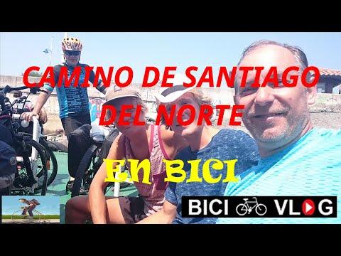 Camino de Santiago en bici  (Camino del norte) - The way of St James on bike  (Northern way)👍😀
