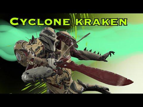 WARFRAME - Cyclone Kraken - Machete Stance