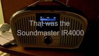 Soundmaster IR4000 wifi internet radio review - a tale of woe, caveat emptor