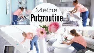 MEIN HAUS | PUTZROUTINE | HAUSHALTROUTINE & ROOMTOUR!