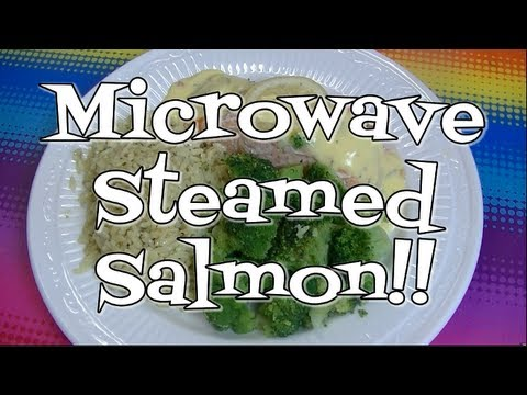 Fast And Delicious, Microwave Steamed Salmon!  Noreen's Kitchen