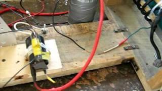 Repeat youtube video Kapanadze Generator - Part 2 Spark Gap Fail
