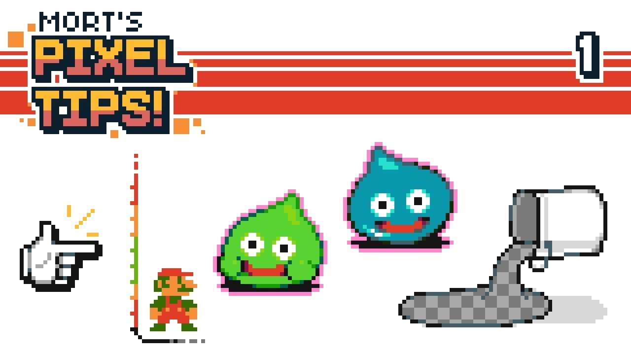 4 Pixelart Tips Outline Toolsize Consistencysnap To Gridmask Fill Tutorial