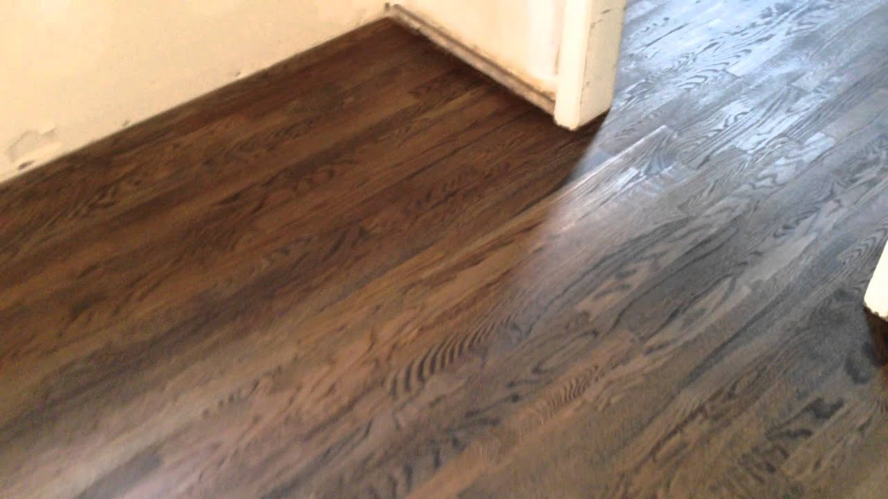 White Oak Solid Hardwood After