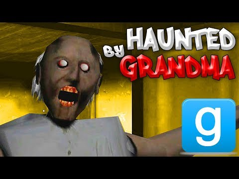 Gmod HAUNTED BY GRANDMA Scary Horror Mod Roleplay (Garry's Mod)