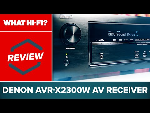 Denon AVR-X2300W AV receiver review